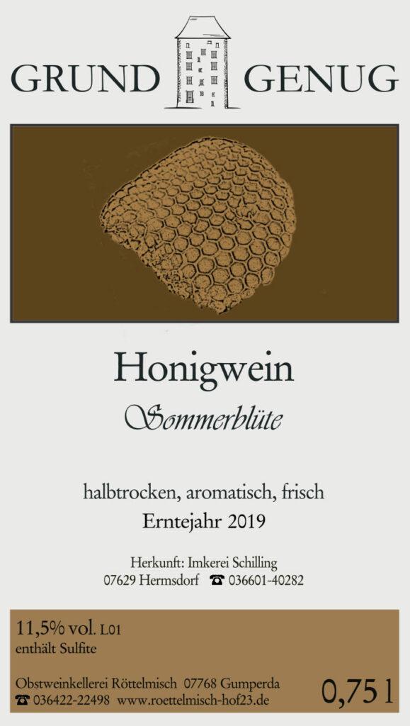 Honigwein 2019