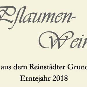 Pflaumenwein 2018