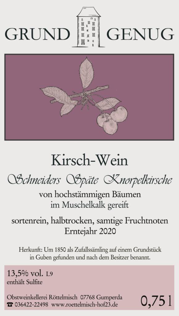 Kirschwein 2020